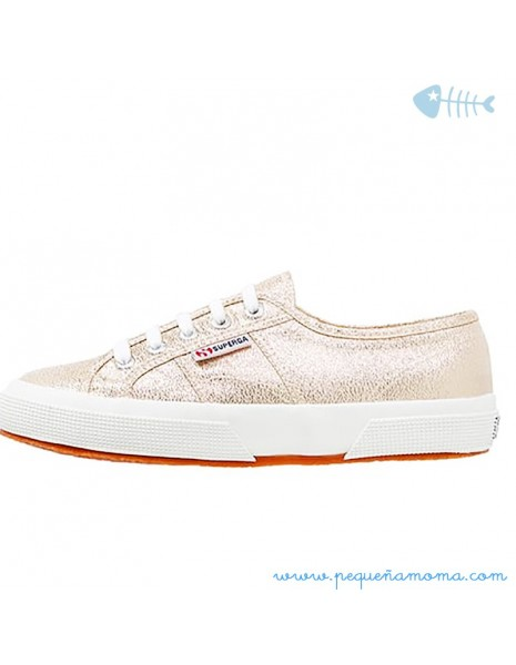 Superga Brillo Oro