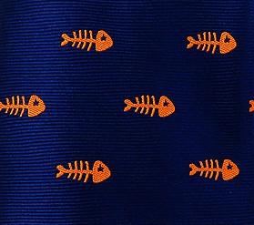 Azul Raspa Naranja